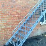 лестница с прутка